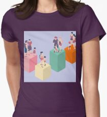 Isometric Infographic Family Types - LGBT included T-Shirt