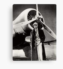 Howard Hughes - amerikanischer Flieger Leinwanddruck
