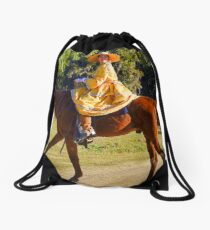 A beautiful Civil War Lady Drawstring Bag