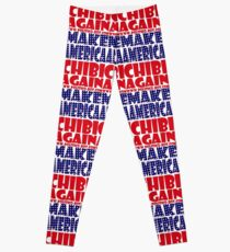 POLITICO-BOT: Make America Chibi Again Leggings