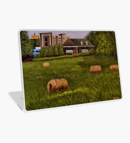 A LITTLE BIT OF COUNTRY, Acrylic Painting, for prints and products Laptop Skin