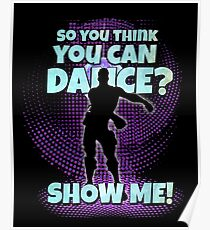 So you think you can Dance? Poster