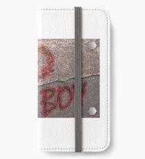 Streetwear, Bad Boy iPhone Flip-Case/Hülle/Klebefolie