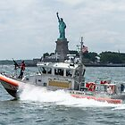 Coast Guard and Liberty by ShootFirstNYC