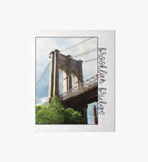 Brooklyn Bridge Art Board