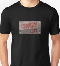 Streetwear Crazy Girl Slim Fit T-Shirt