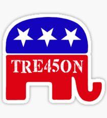 GOP Treason 45 Elephant Sticker