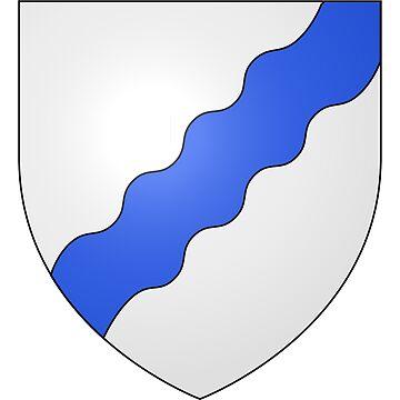 French France Coat of Arms 15479 Blason de la ville de Luttenbach près Munster by wetdryvac