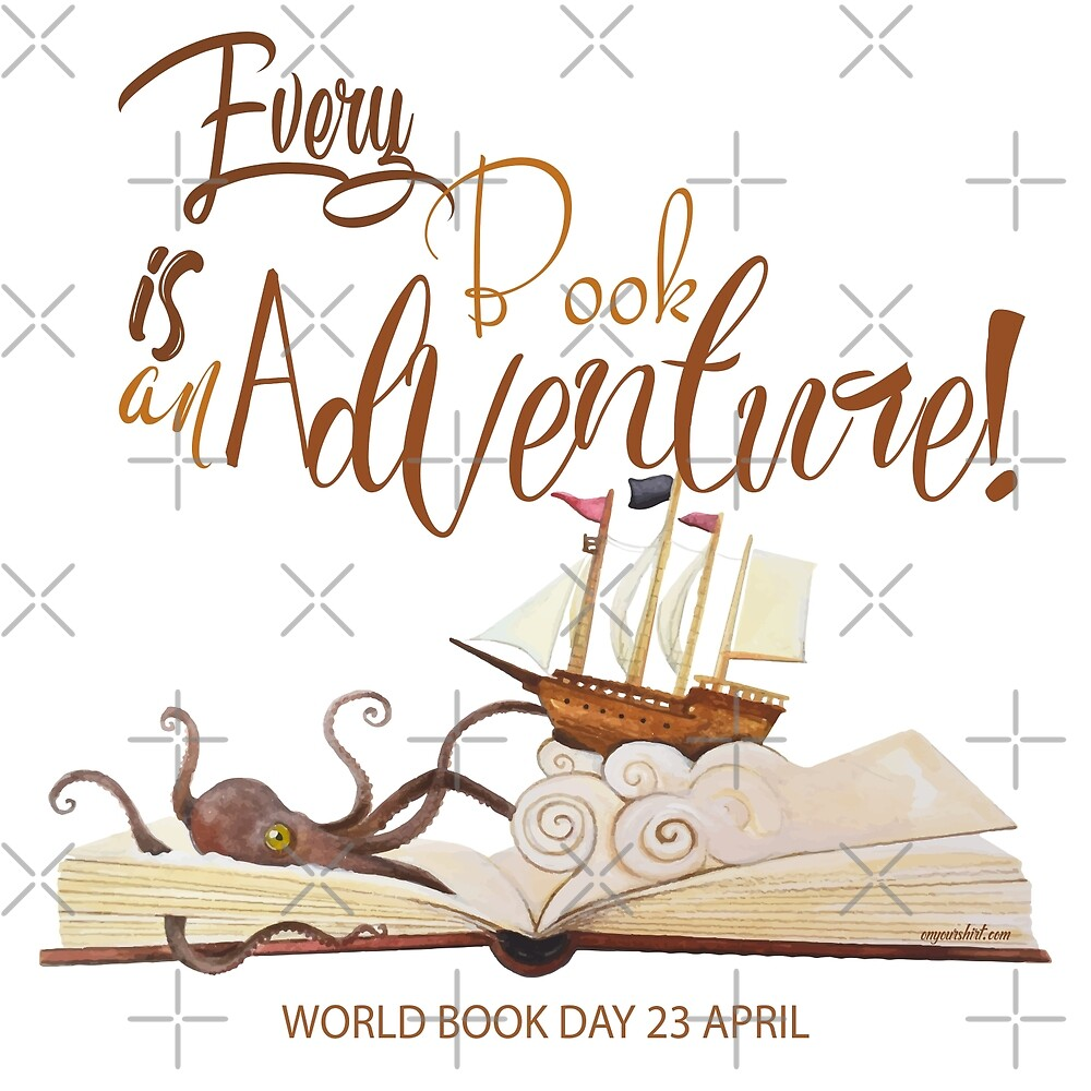 Every Book is an Adventure by IconicTee