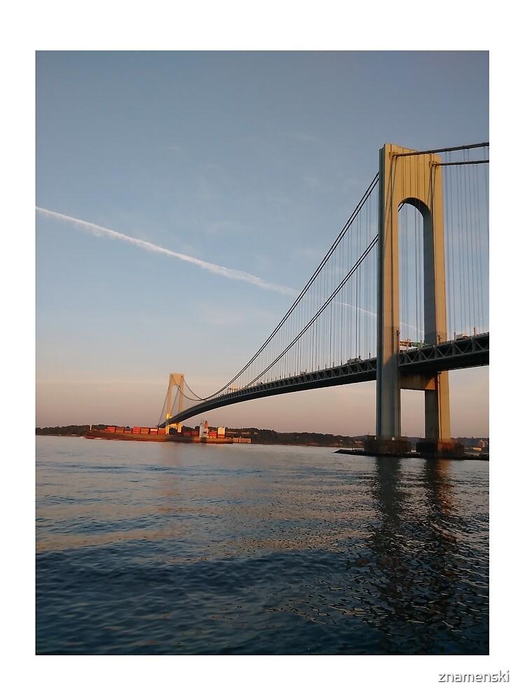 New York, New York City, Brooklyn, #NewYork, #NewYorkCity, #Brooklyn, Verrazano Narrows Bridge, #VerrazanoNarrowsBridge,  by znamenski