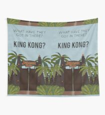 Jurassic Park - What Have They Got In There? King Kong? Wall Tapestry