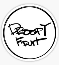 Droopy Fruit Sticker