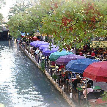 Riverwalk, San Antonio, Texas by RareTexasGifts