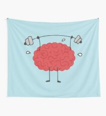 Brain Workout Wall Tapestry