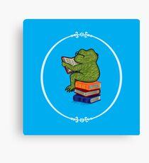 Frog Fiction Canvas Print