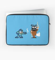Pixel Crossover (Mega Man & Duck Hunt) Laptop Sleeve