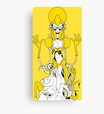 Miika's Palanisamy Dead Men Wanted:The Hiver Queen Canvas Print