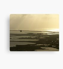 Flying near the Keys Canvas Print
