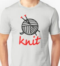 knit with sweet Yarn graphic Unisex T-Shirt