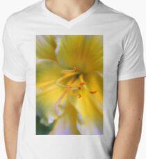 Yellow ! Men's V-Neck T-Shirt