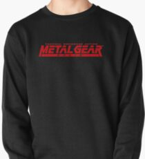 metal gear solid logo Pullover