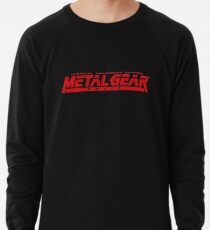 metal gear solid logo Lightweight Sweatshirt