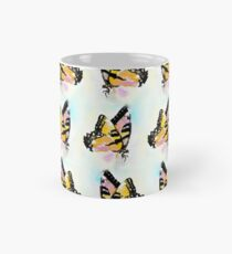 seamless pattern in watercolor of a butterfly Mug