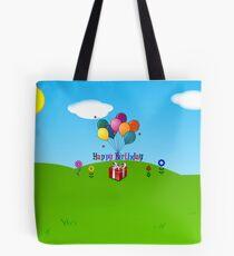 Happy Birthday Celebration Tote Bag