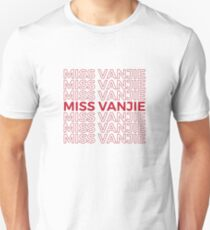 Miss Vanjie RuPauls Drag Race Slim Fit T-Shirt