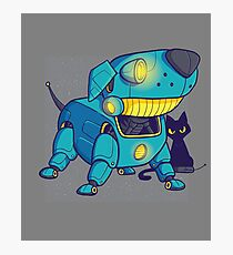 Dog robot Photographic Print