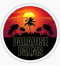 Paradise Palms - Fortnite Gamer Sticker