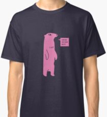 Rub Me On Your Butt (Pink) Classic T-Shirt