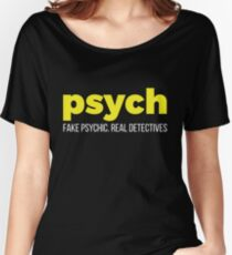 Your Friendly Psychic Tshirt Design Real detectives Women's Relaxed Fit T-Shirt