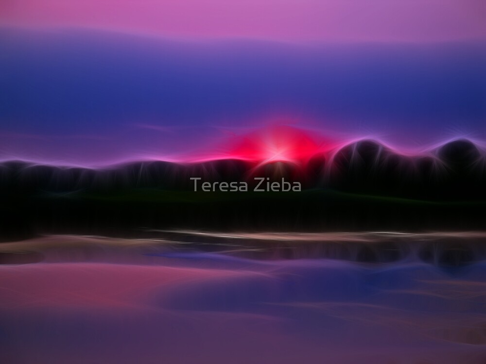 Magical Evening by Teresa Zieba