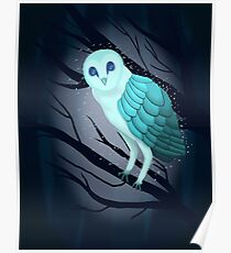 Spirit Owl Poster