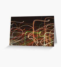 Tube Map Greeting Card