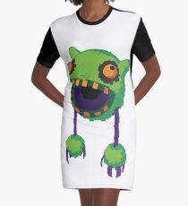 Big Mouth Piñatamon Graphic T-Shirt Dress