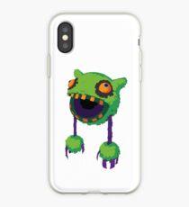 Big Mouth Piñatamon iPhone Case