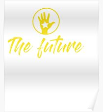 Your Friendly Psychic Tshirt Design mystical psychic fortune teller Poster