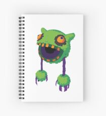 Big Mouth Piñatamon Spiral Notebook