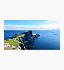 neist point  lighthouse scotland Photographic Print