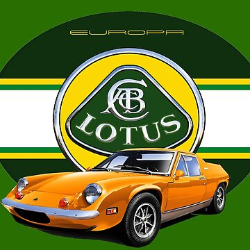 Lotus Europa by midcenturydave