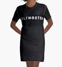 Self Hosted Graphic T-Shirt Dress