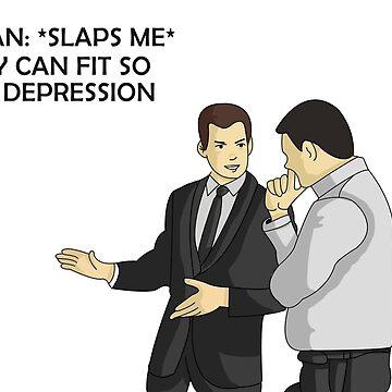 Car salesman depression meme funny  by TryStar