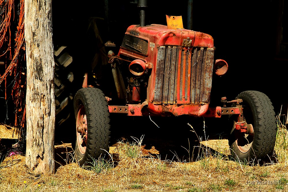 Tractor Shed by Joe Mortelliti