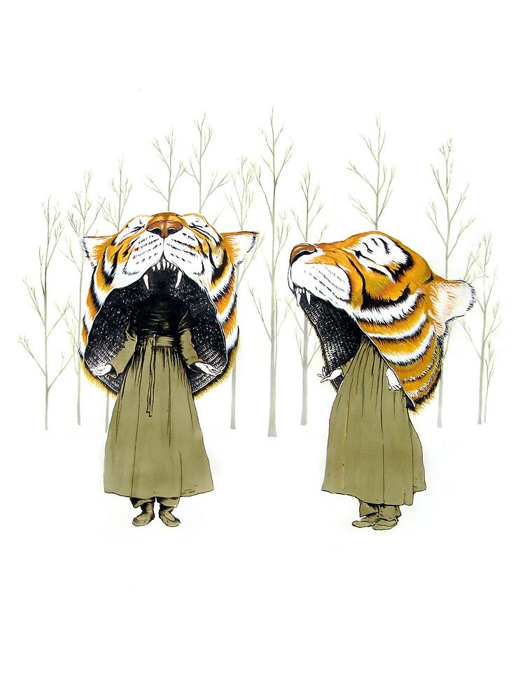 Tigerheads by Aaron McConomy