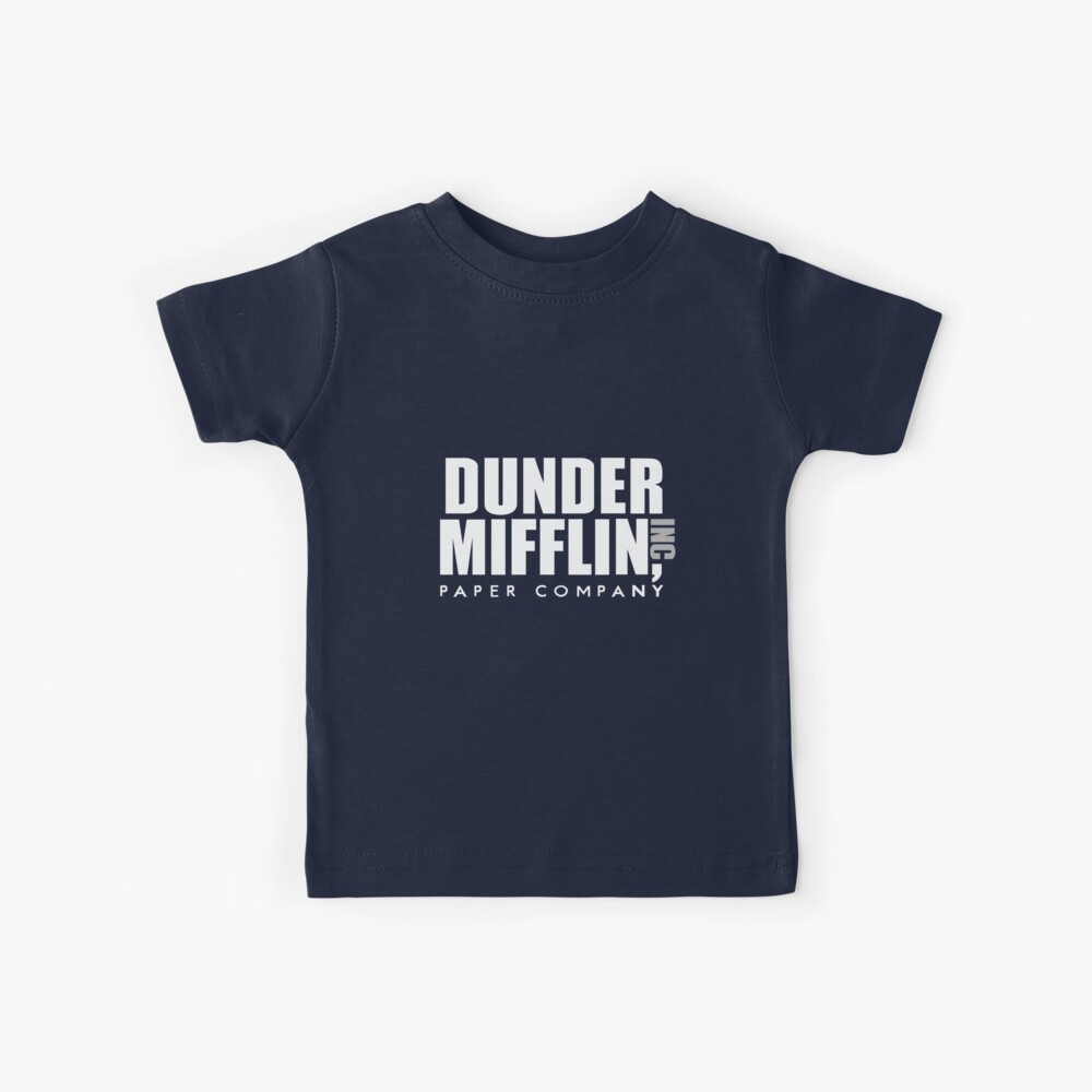 Dunder Mifflin Kids T-Shirt