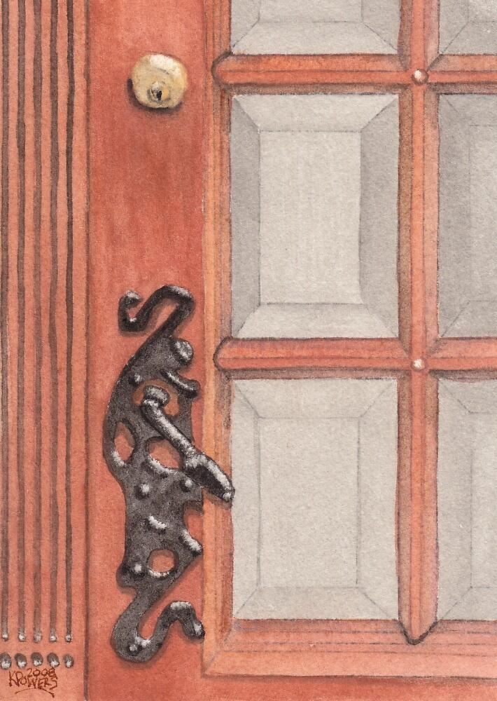 Ornate Door Handle by Ken Powers