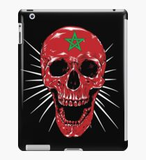Morocco Skull Halloween Skull iPad Case/Skin