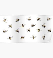 Buzzy Bees Poster